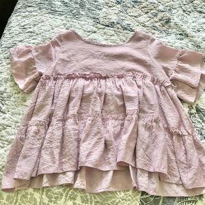 Zaful Tops - Flowy lilac blouse
